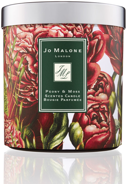 Jo Malone's charity candle 2016 scented with peony and moss