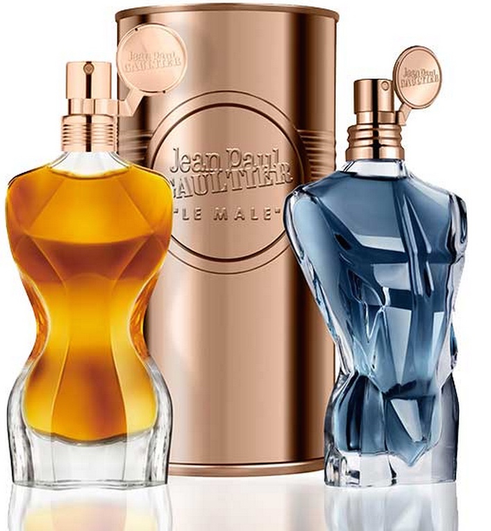 sculptured torso bottles for Jean Paul Gaultier Les Essences de Parfum
