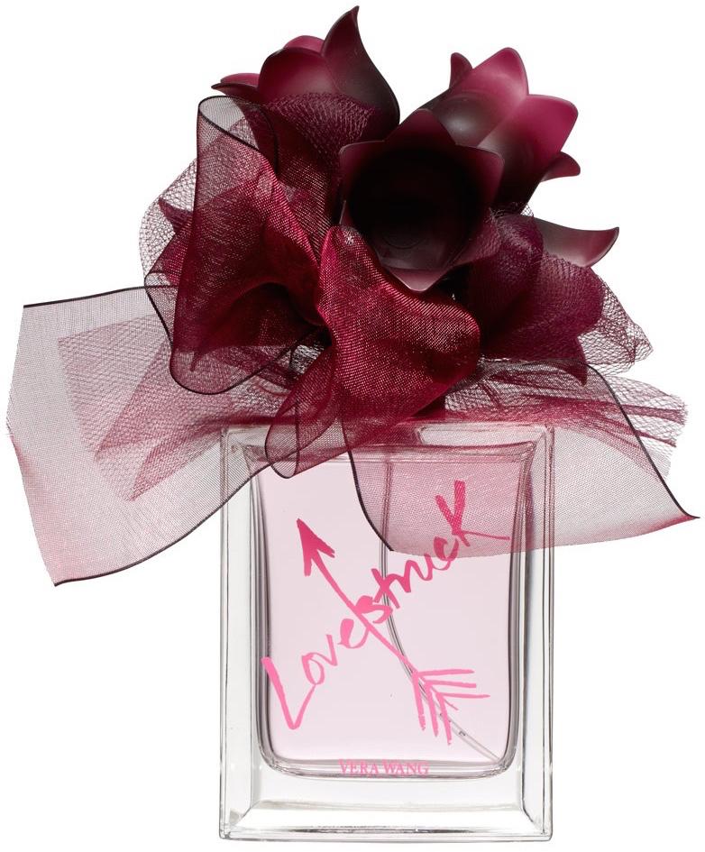 bottle of Vera Wang Lovestruck perfume