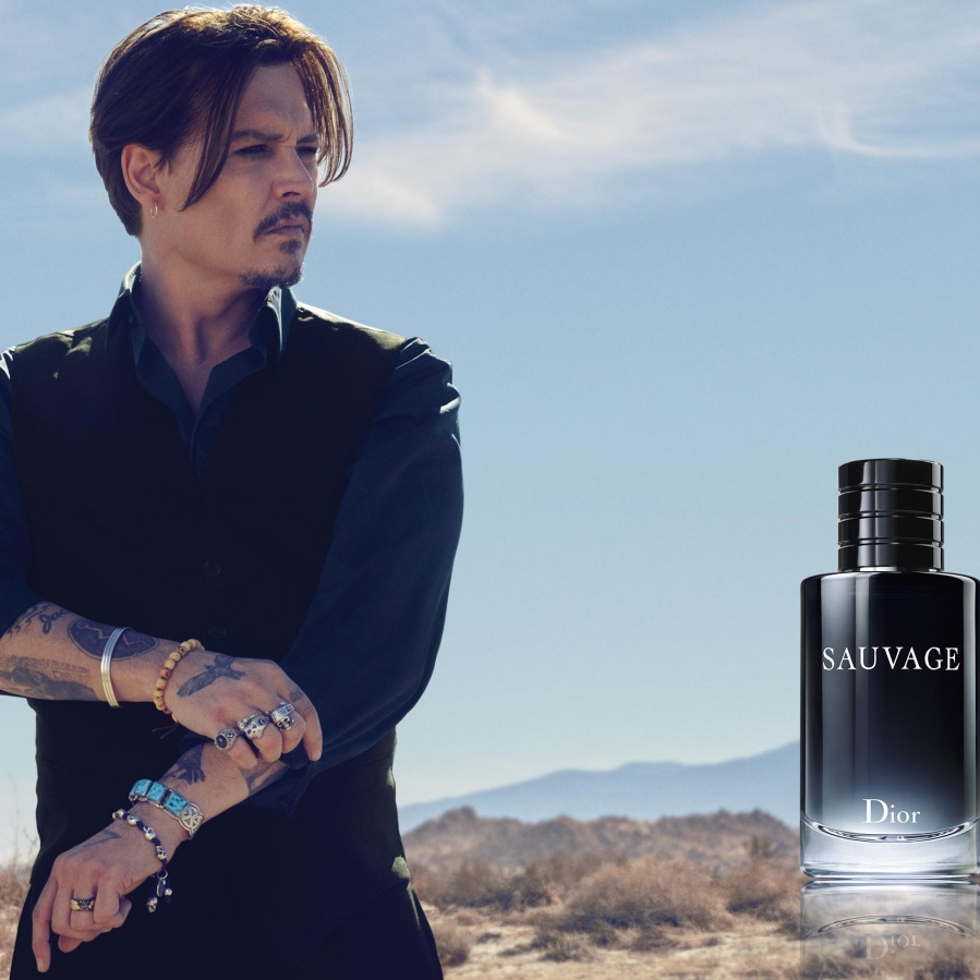 Dior Sauvage with Johnny Depp as the face - see the film ... Johnny Depp Cologne