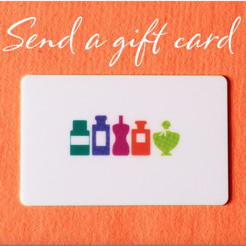 Send a Perfume Society Gift Card