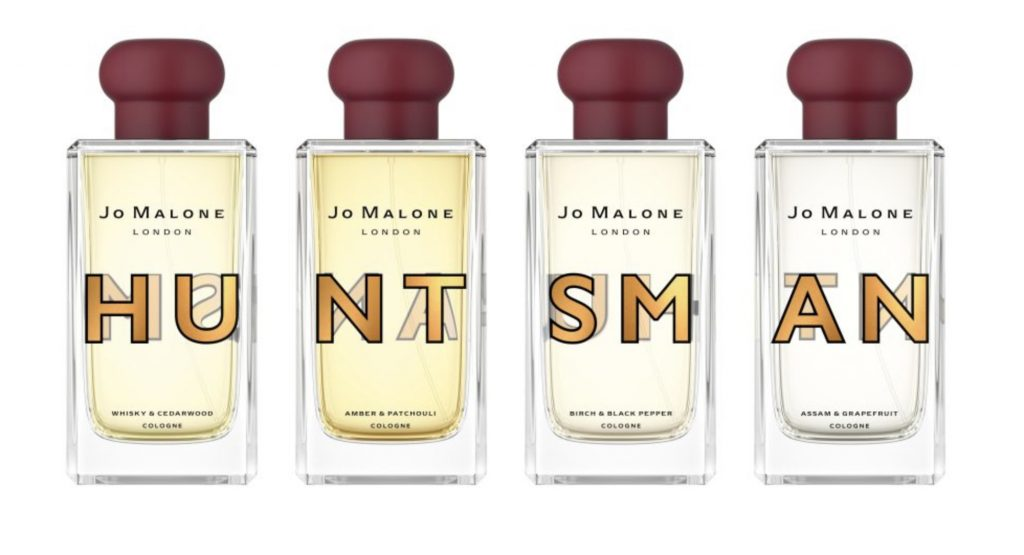 Huntsman fragrances line-up for Jo Malone London