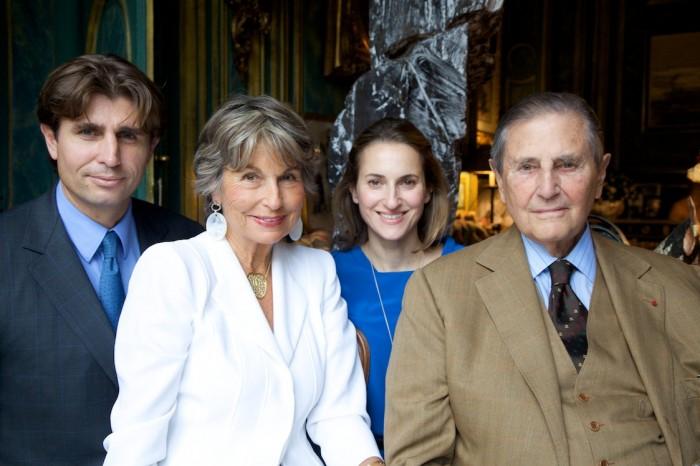 Philippe, Isabelle, Christine et Hubert d'Ornano