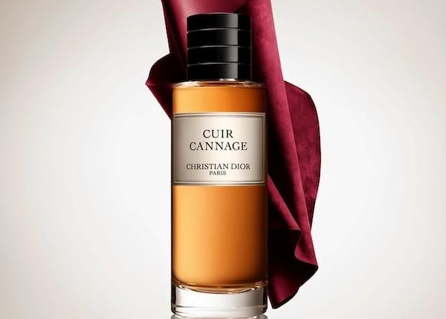 'A Dior quilted handbag, fragrantly bottled'