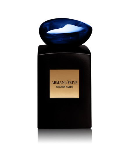 'The latest historical homage to grace Armani's 'Haute Perfumery' collection'
