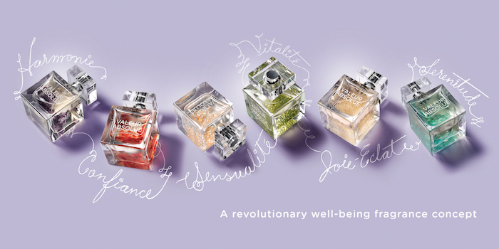 'Valeur Absolue: the fragrance collection with added wellbeing benefits'