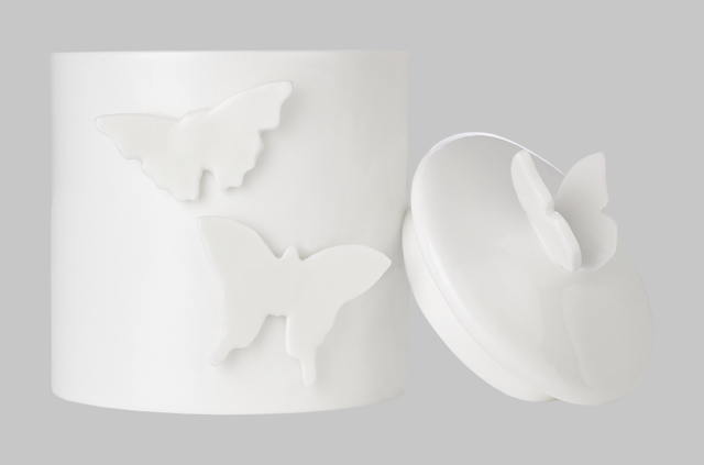 'We're going wild for Mitchell & Peach's limited edition Butterfly Candle'