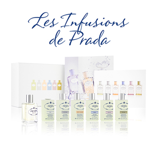 EXCLUSIVE! Prada Parfums Les Infusions de Prada Discovery Box