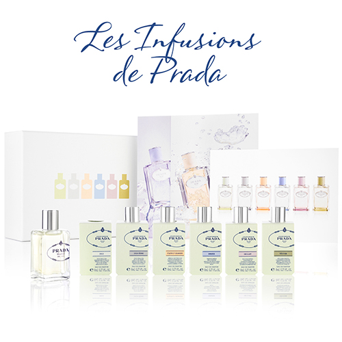 Revealing our most exciting launch yet: the exclusive Les Infusions de Prada Discovery Box