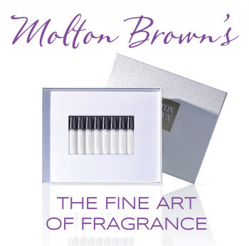 Discover and explore Molton Brown's The Art of Fragrance Discovery Box – eight intriguing and wearable scents!