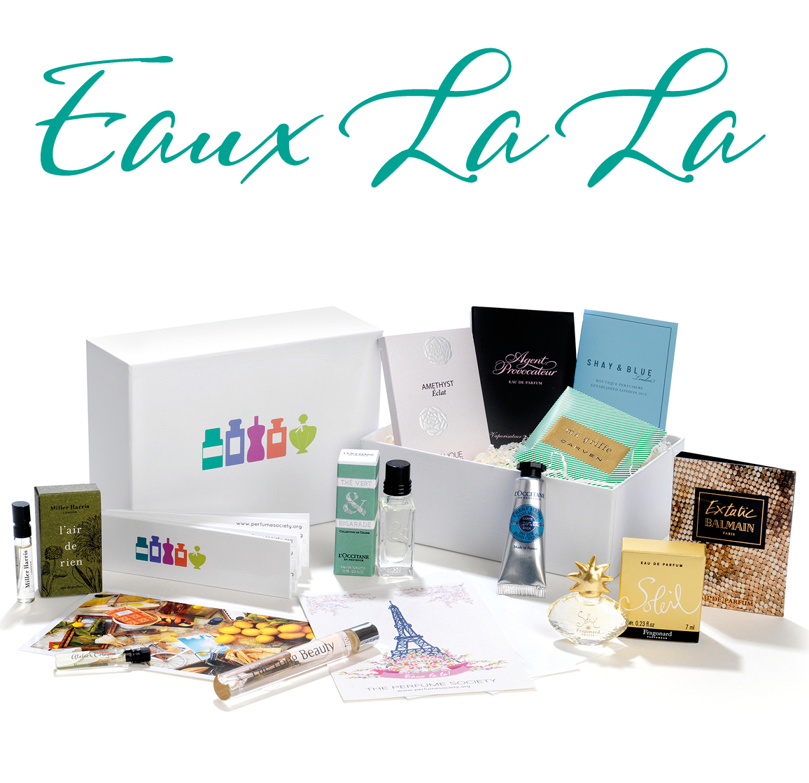 From field to flacon, celebrate French perfumery with our new EAUX LA LA Discovery Box…