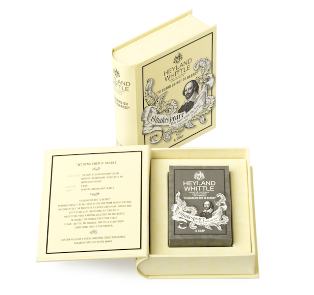 Shakespeare Soap Book SMALL