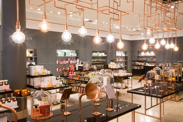 Selfridges Fragrance and Candle Space main