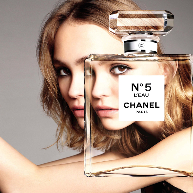 Second generation perfumer, second generation 'face': Lily-Rose Depp is the face of Olivier Polge's Chanel No5 L'Eau