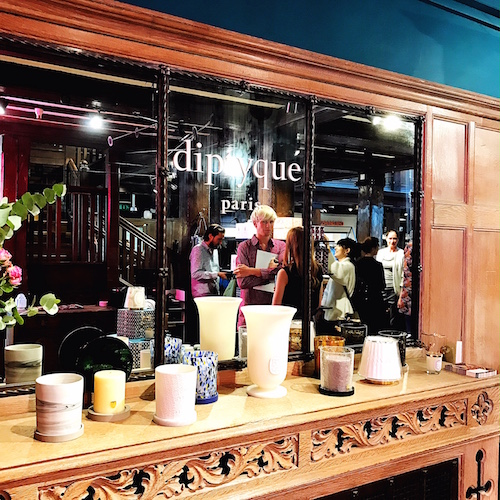 An absolutely darling Diptyque 34 Boutique pops up at Liberty