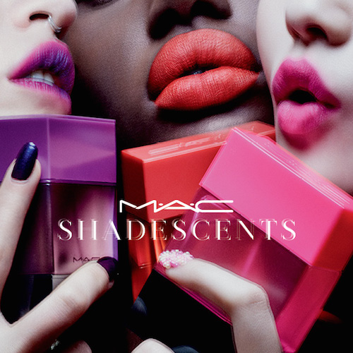 M.A.C's ShadeScents: perfumes to match your pout. Are you a Ruby Woo…?