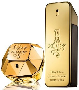 paco-rabanne-lady-million-and-one-million-bottles