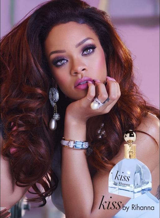 Rihanna Kiss ad