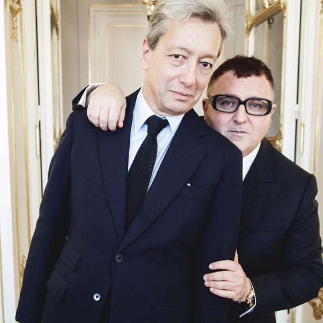 Superstitious? That's us, as Frederic Malle unveils his collaboration with Alber Elbaz