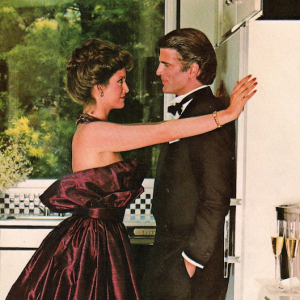 Vintage men's fragrance advertising down the decades