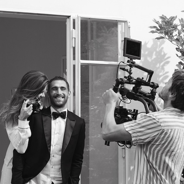 We go behind the scenes with Acqua di Parma's heart-melting ad