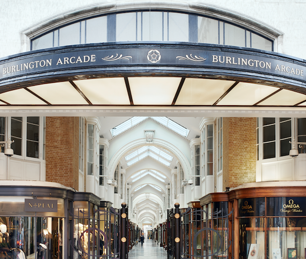 Fall in love at Burlington Arcade…