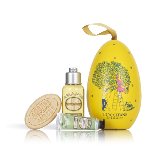 Scented gifts to give this easter the perfume society envelop your body with the delicious scent of almond while leaving it soft and toned this egg contains an indulgent selection to stimulate the senses negle Image collections
