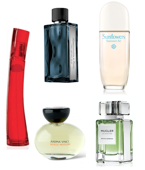 '5 new scents to get your pulses racing!'