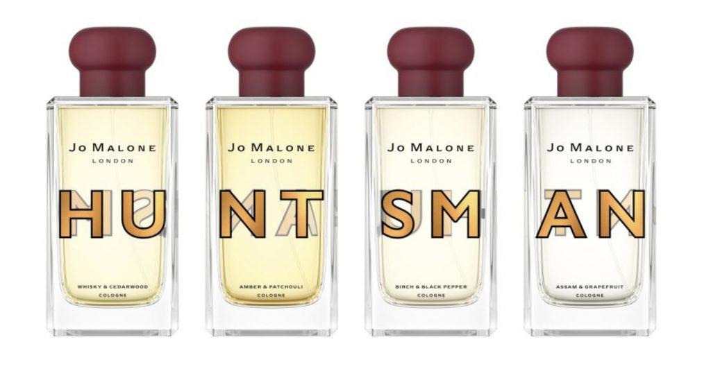 Huntsman fragrances line-up for Jo Malone London