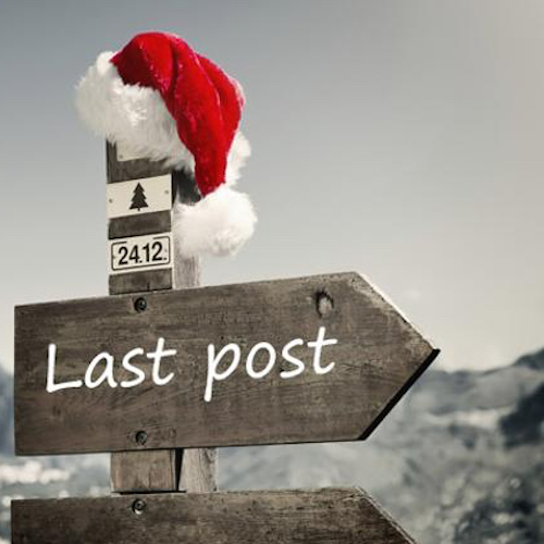Last Mailing Dates Christmas 2019 Last safe posting dates for Christmas? PLUS gift guide round up