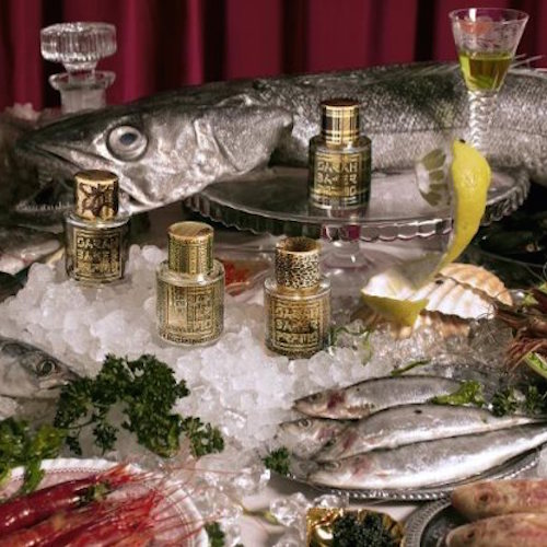 'Fish & fragrance?! Sarah Baker Perfumes pops up at Fin & Flounder'