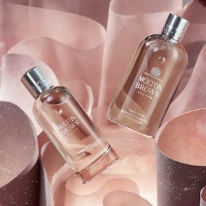 Celebrate the launch of Suede Orris at Molton Brown Regent Street
