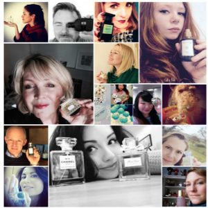 Share your #smellfie to WIN perfume prizes