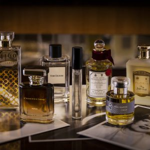 LCW and The Beaumont Hotel present the Jimmy Beaumont Perfume Collection