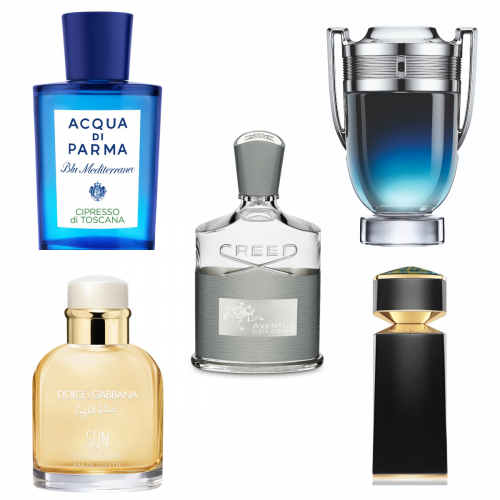 'Latest Launches: Scents for the Gents'