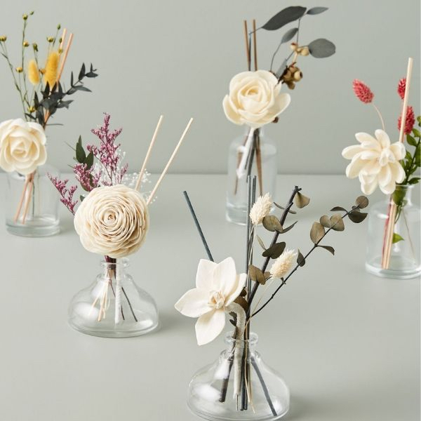 'Anthropologie Floral Diffusers'