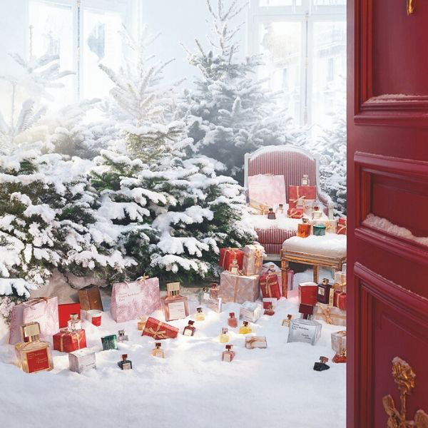 Scented christmas trees & more from Maison Francis Kurkdjian
