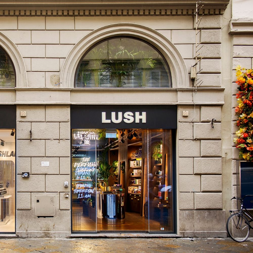 'LUSH has new perfume library – and it's in Florence!'