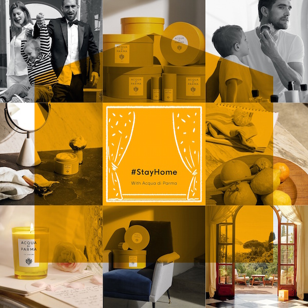 #StayHome with Acqua di Parma: donating 100% of online revenue to charity
