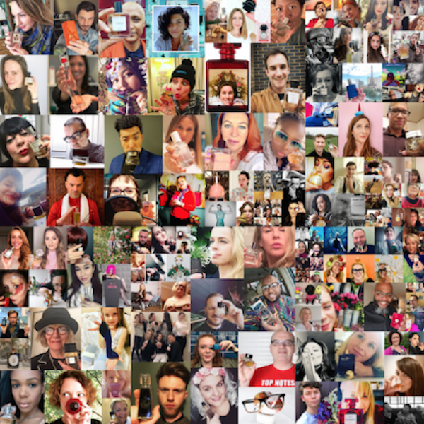 'Get set to post your #smellfie on March 21st!'