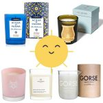 Scented candles for summer: bring the sunshine in!