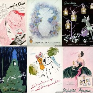 Vintage perfume posters (to purchase & swoon over...)