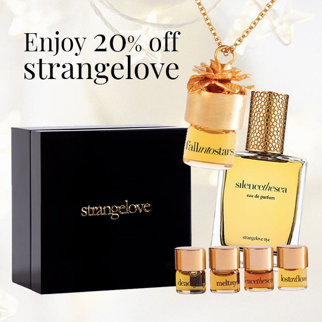 EXCLUSIVE: 20% discount on strangelove – just for you!