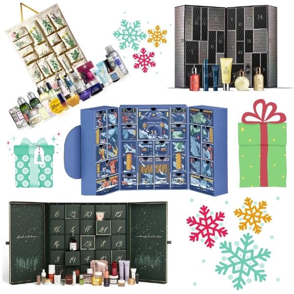 Fragrant advent calendars –  #lockdown countdown, or daily treats 'just because'!