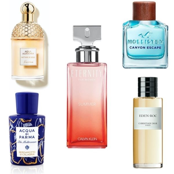 'Fragrances for… a holiday in a bottle'
