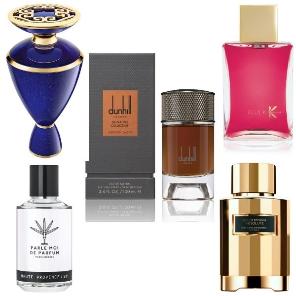 'Fragrances for… luxury destinations (even if you're stuck at home!)'