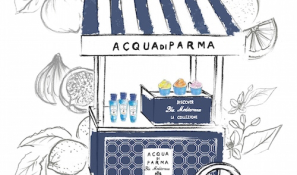 Did someone say summer? 2nd-8th June: Acqua di Parma gelato at Harvey Nichols!