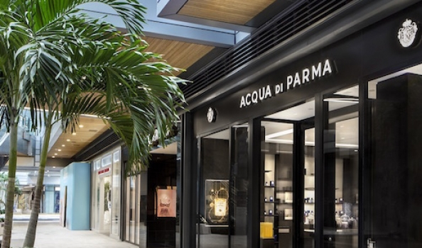 Acqua di Parma serves sun-seekers a dose of Italian luxury in new Miami boutique