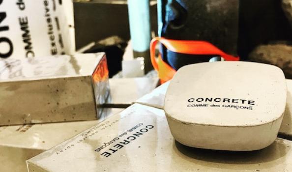 Scent in stone: Comme des Garçons get CONCRETE