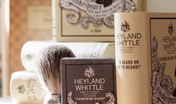 Shakespeare's in a lather with Heyland & Whittle's commemorative Soap Book